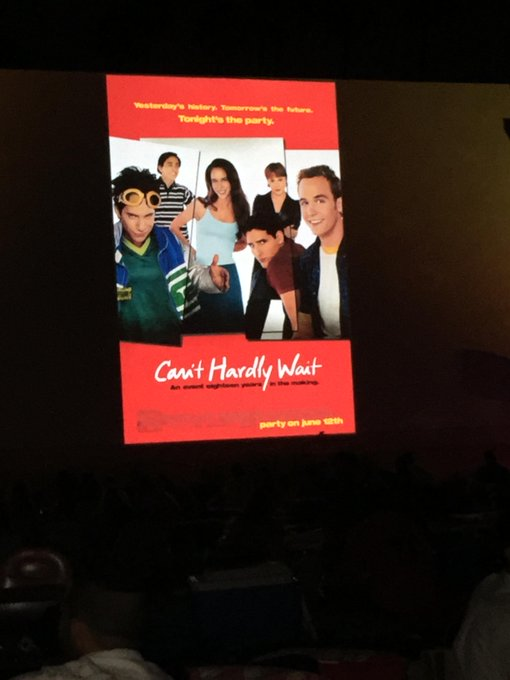 Can't Hardly Wait reunion movie anyone? Let's get them to make it! http://t.co/rI3XzLbzqD