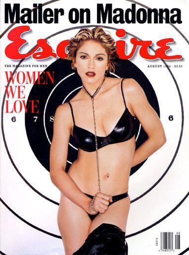 Happy bday Madonna! Esquire 1994.