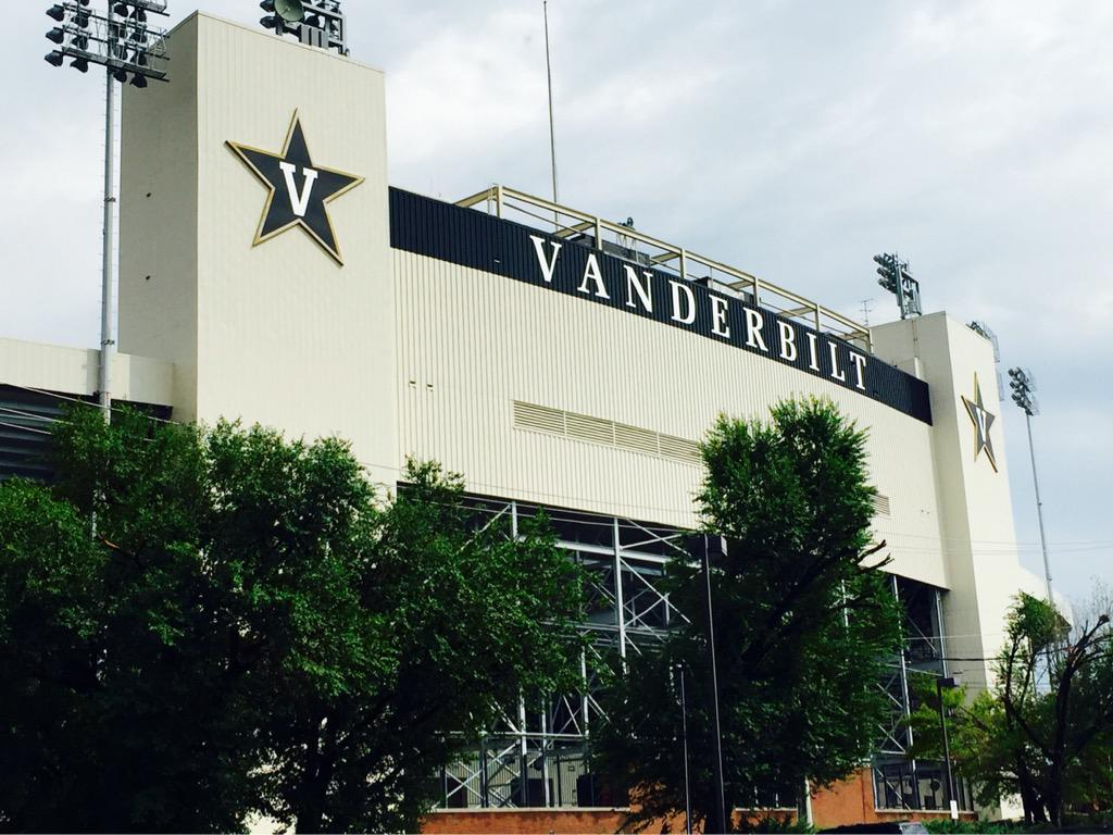 Minutes from downtown Nashville, Vandy's a must see in the SEC! #AnchorDown #SeeTheSEC http://t.co/WvhfdQEYQt