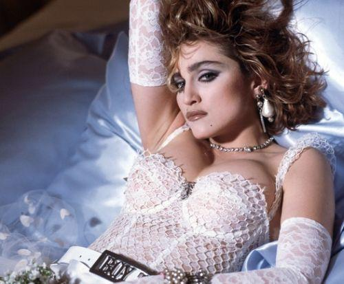Happy Birthday to the Queen of Pop - and lingerie lover -