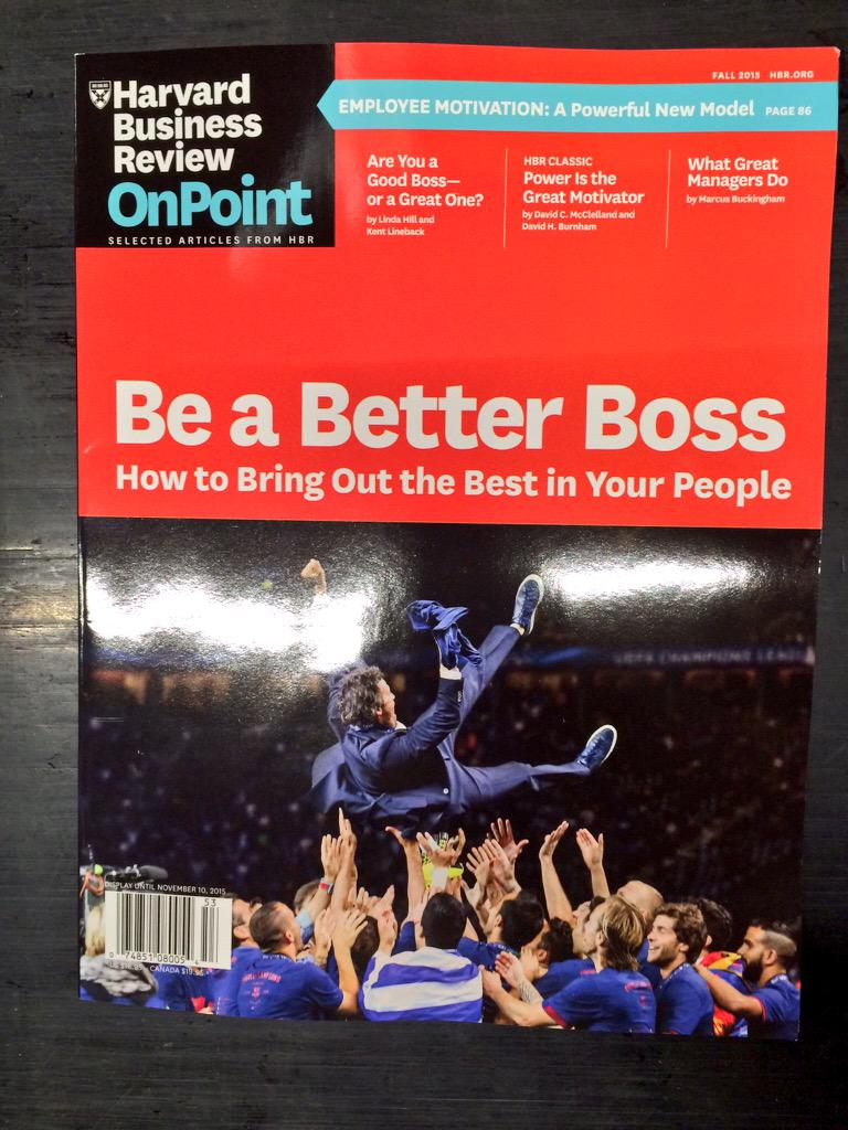 The @HarvardBiz knows what's up with this glorious cover