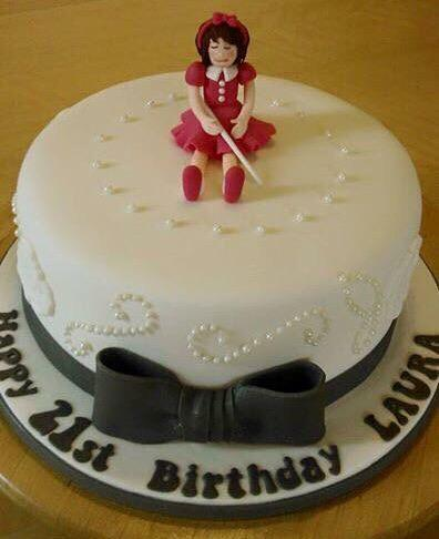 RT @emilyseggie_: My mum ordered a cake for my sisters bd n asked for a blond girl on top but it autocorrected to blind n we got this http:…