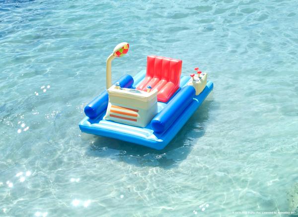 これは乗りたくなる!あのドラえもんタイムマシン風な浮き輪 → http://t.co/xitgT9f2NX #style4 http://t.co/BHqkY7P5u2 タイムスリップしたい!
