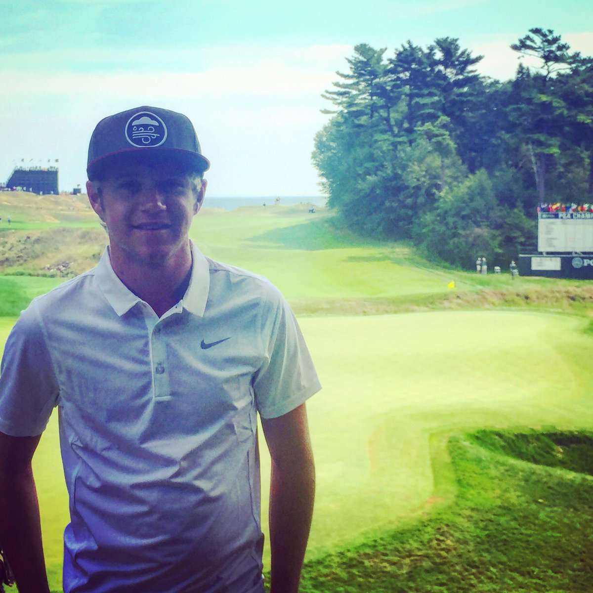 .@onedirection's @NiallOfficial is ready for an exciting #PGAChamp finish! Are you? http://t.co/NxjLNj2LdL