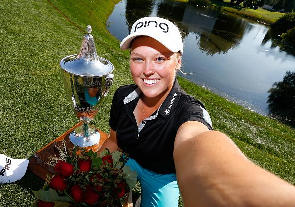 #LPGAWinnerSelfie with @BrookeH_Golf @Cambia @PortlandClassic http://t.co/kQqzc4ulSx