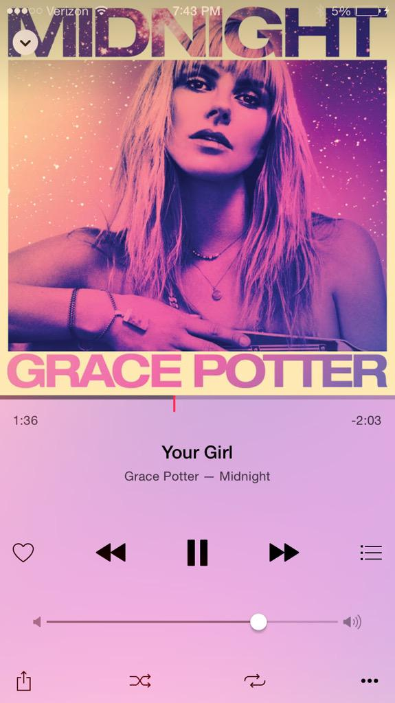 Thanks love!!✨⚡️☀️RT @adamlambert: This @gracepotter album #MIDNIGHT is SOOO GOOD. Her voice is crazy good. http://t.co/2nZIG7A8Hm