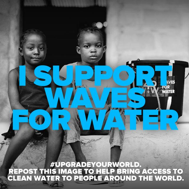 Nearly 1 billion people around the world don't have access to clean water. http://t.co/000MZKdGvM