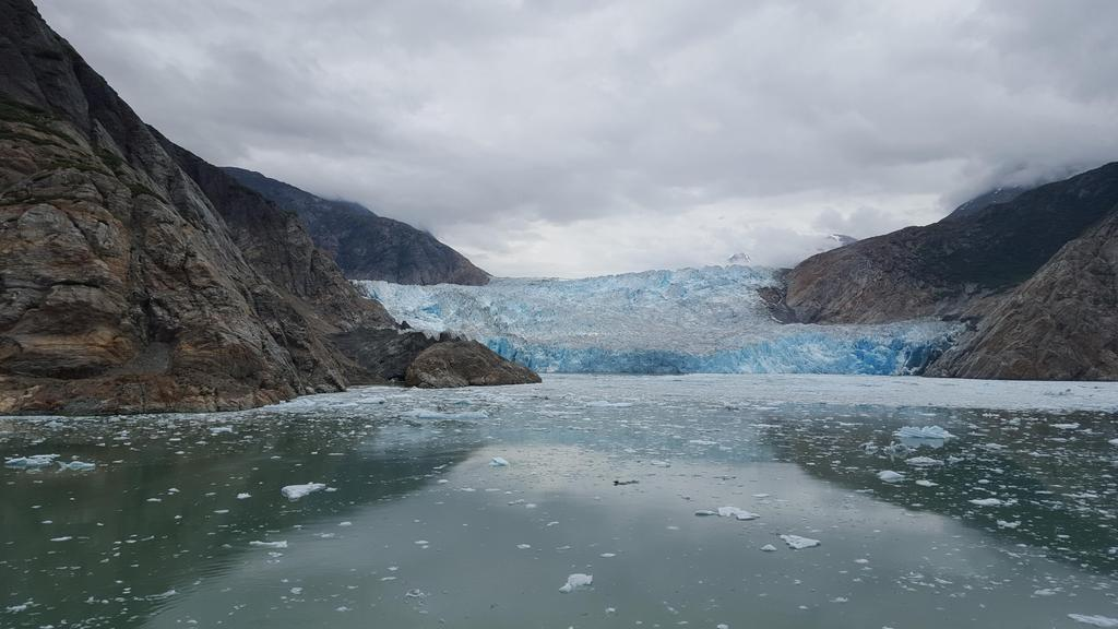 Glacier picture taken with my phone from the Disney Cruise. Tracy Arm, Alaska [5312x2988] [OC] from GodoyX via Pais… http://t.co/zgnFflfJG9