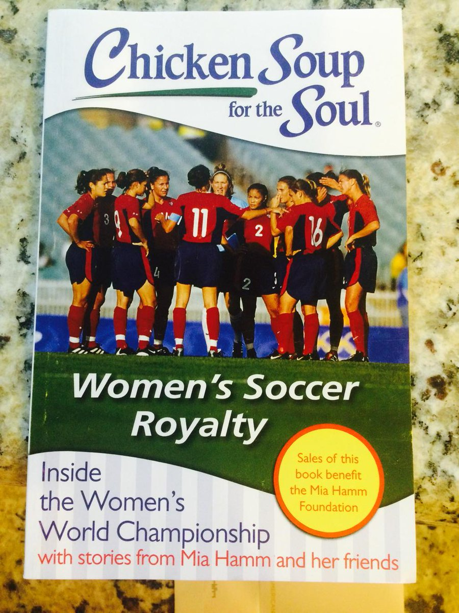 Inside stories in this new book coming out! Buy the book and all proceeds go to @MiaHammFdn @MiaHamm! @ussoccer_wnt http://t.co/vziMdRWIjq