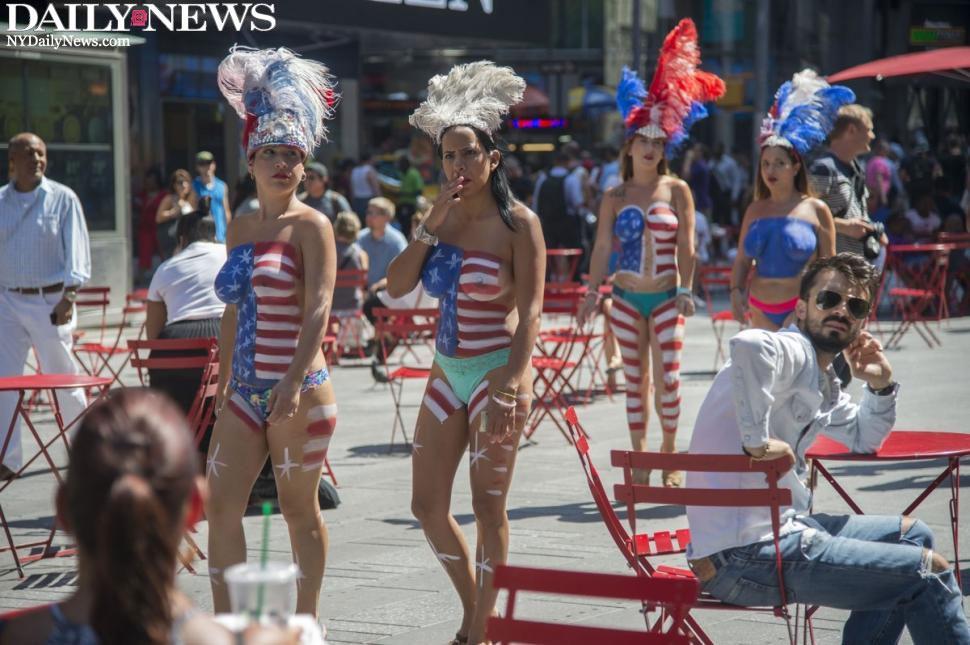 Shocking! Women Expose Bare Breasts to Celebrate Manhood
