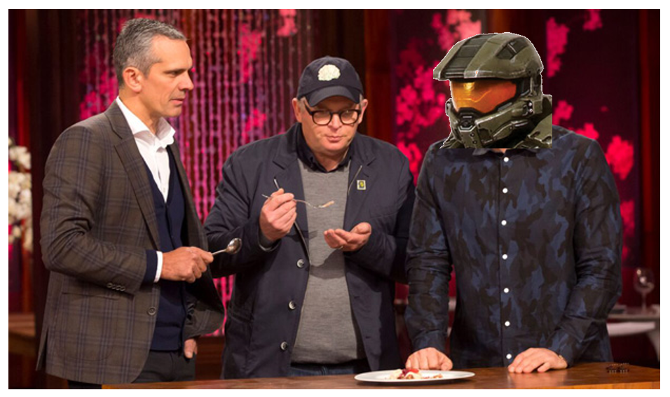 Great to see #Microsoft making a version of #Halo just for the NZ #Xbox market #masterchefnz http://t.co/0UGDmktpCv