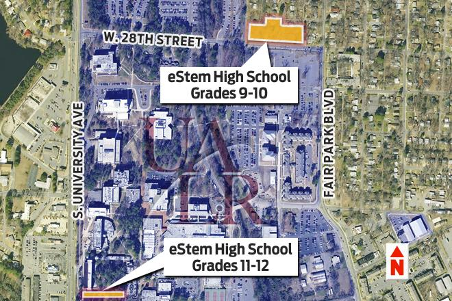 UALR & eStem Public Charter Schools are relocating eStem's HS to UALR campus, to open in 2017. http://t.co/Zz6pExFhDT http://t.co/8NBgOO5PVs