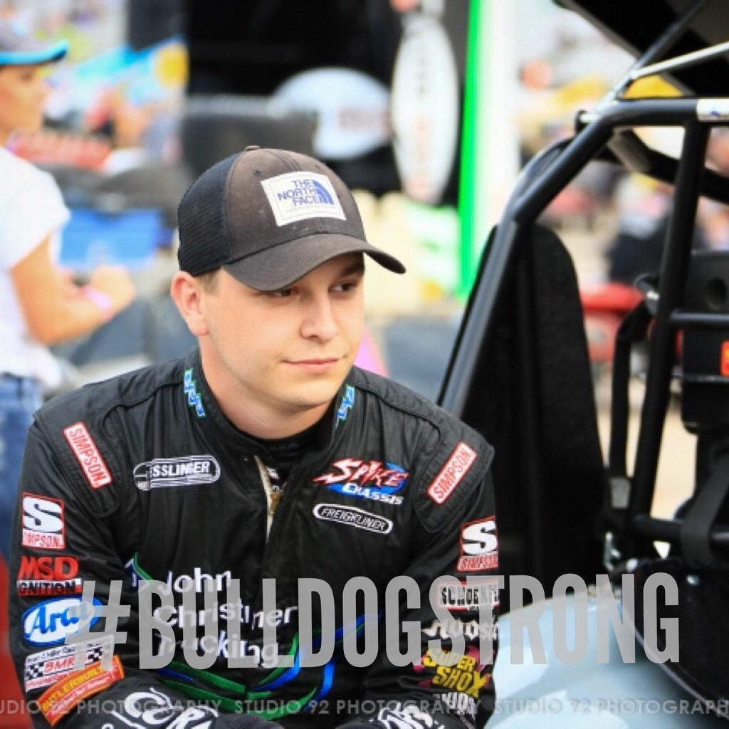 Keep it trending race fans! #KevinSwindell #BulldogStrong http://t.co/QbLbD1sAOM