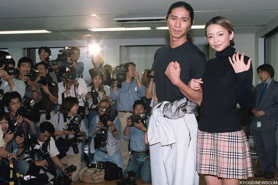 結婚発表での安室奈美恵