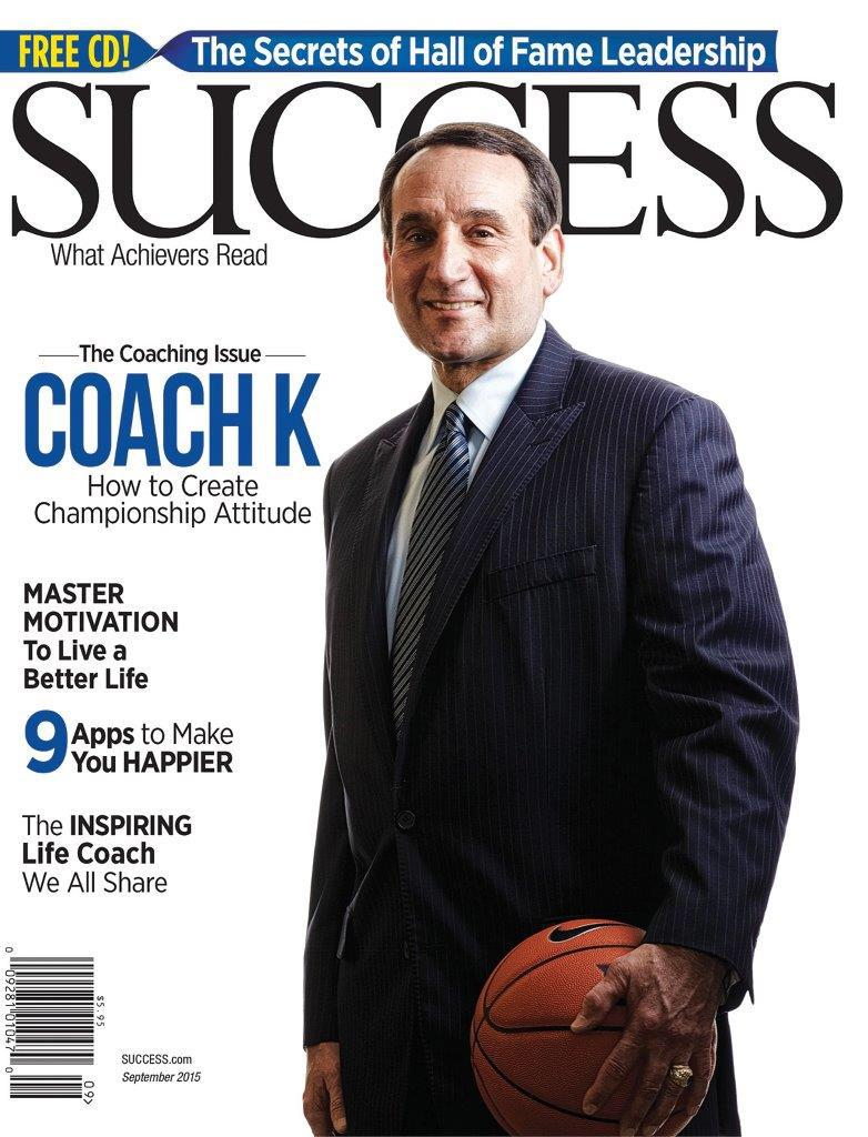 He won his 5th NCAA title in April. Cover Success mag Sept. Summit 2015 Key Note Speaker Oct 9th! #LTDteam http://t.co/UKOJO1bnGI