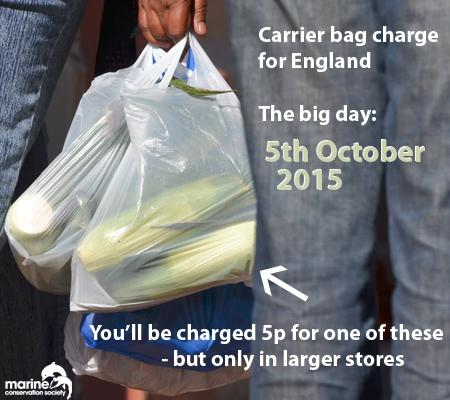 Date is set for plastic bag charge in England - Monday 5th October http://t.co/Xl6IjBTDZf. Only in big shops though. http://t.co/dPCHll986f