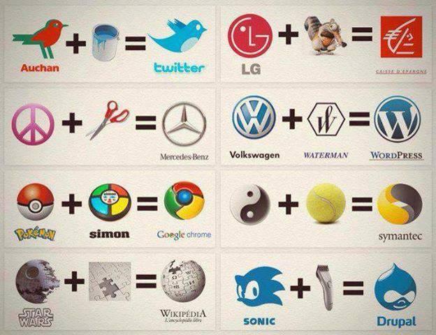 ¿Como nacieron algunos de los #logos más conocidos? He aquí una divertida versión alternativa ;) http://t.co/3NonyZfQq6