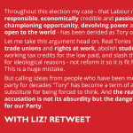 Calling someone a Tory is not a substitute for being forced to think. #Labourdebate http://t.co/TNtxYDqEl7 http://t.co/PogRJVspeJ