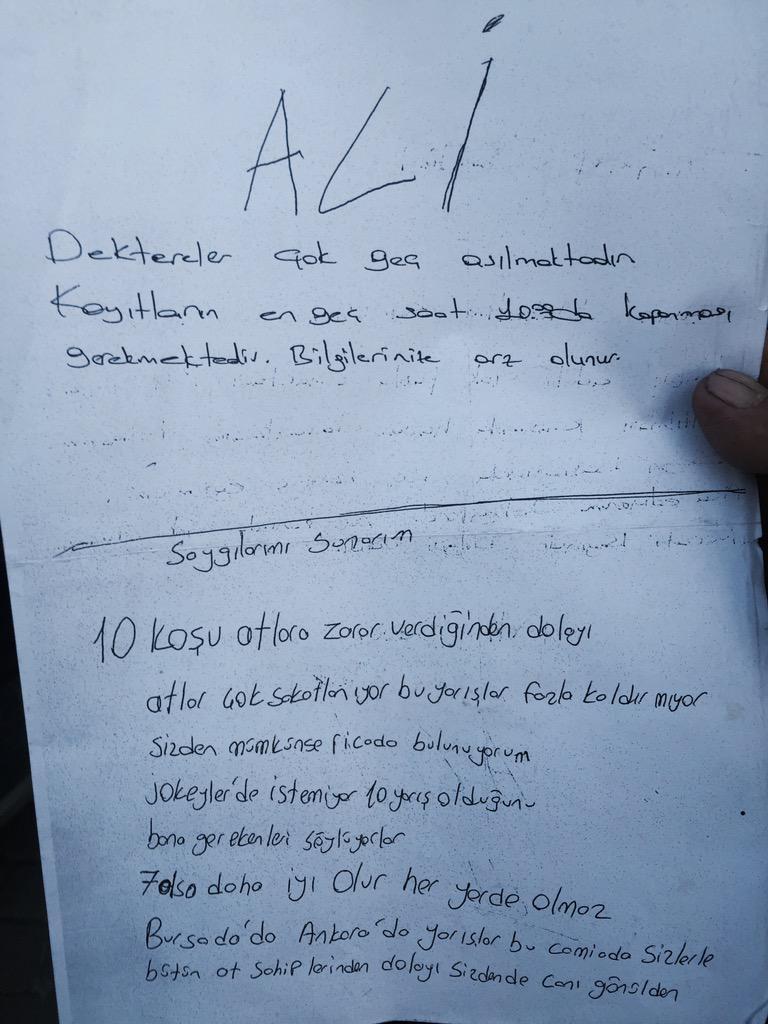 Atahan Zilcioglu ®  (@Atahanzilcioglu): Deli Türk Atçılığının kurtuluş reçetesini hazırlamış. Dile kolay 30 yıllık birikim! Sesimizi duyuralım! RT lütfen