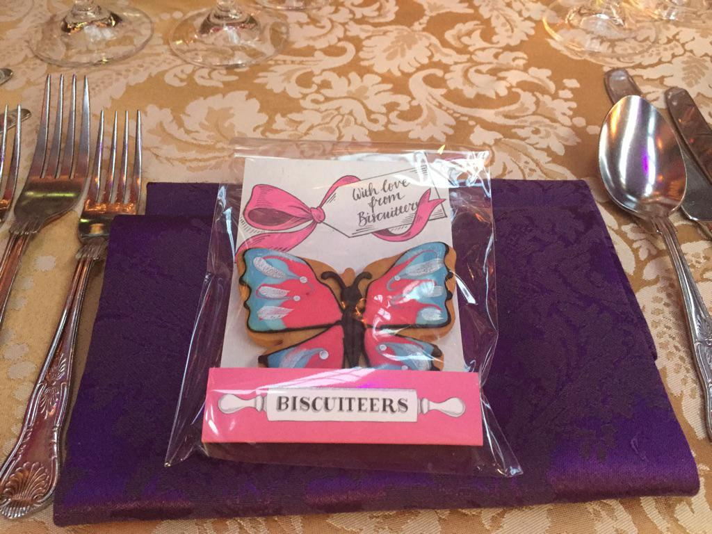 Huge thanks for the amazing butterfly biscuits kindly donated by @BiscuiteersLtd http://t.co/QfX60nOQmD