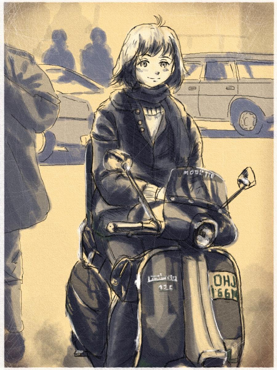 バイクの日だからバイク絵晒す #バイクの日 http://t.co/kvWiAohDNj