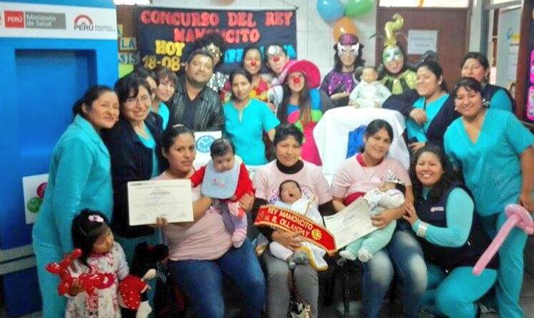 Somoslecheros el centro materno infantil ollantay de san juan de miraflores realiz el concurso - Centro de salud san juan ...
