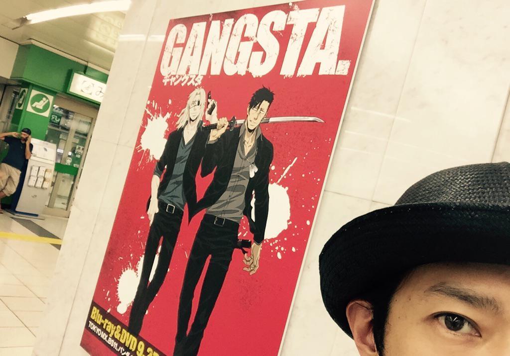 『GANGSTA.』新宿中央東口ポスター⑦ #ギャングスタ