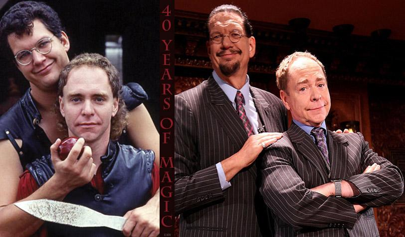 Thanks, @pennjillette & @MrTeller, for 40 years of magic and entertainment, inspiration and speaking truth to power. http://t.co/wMsJgJwymI