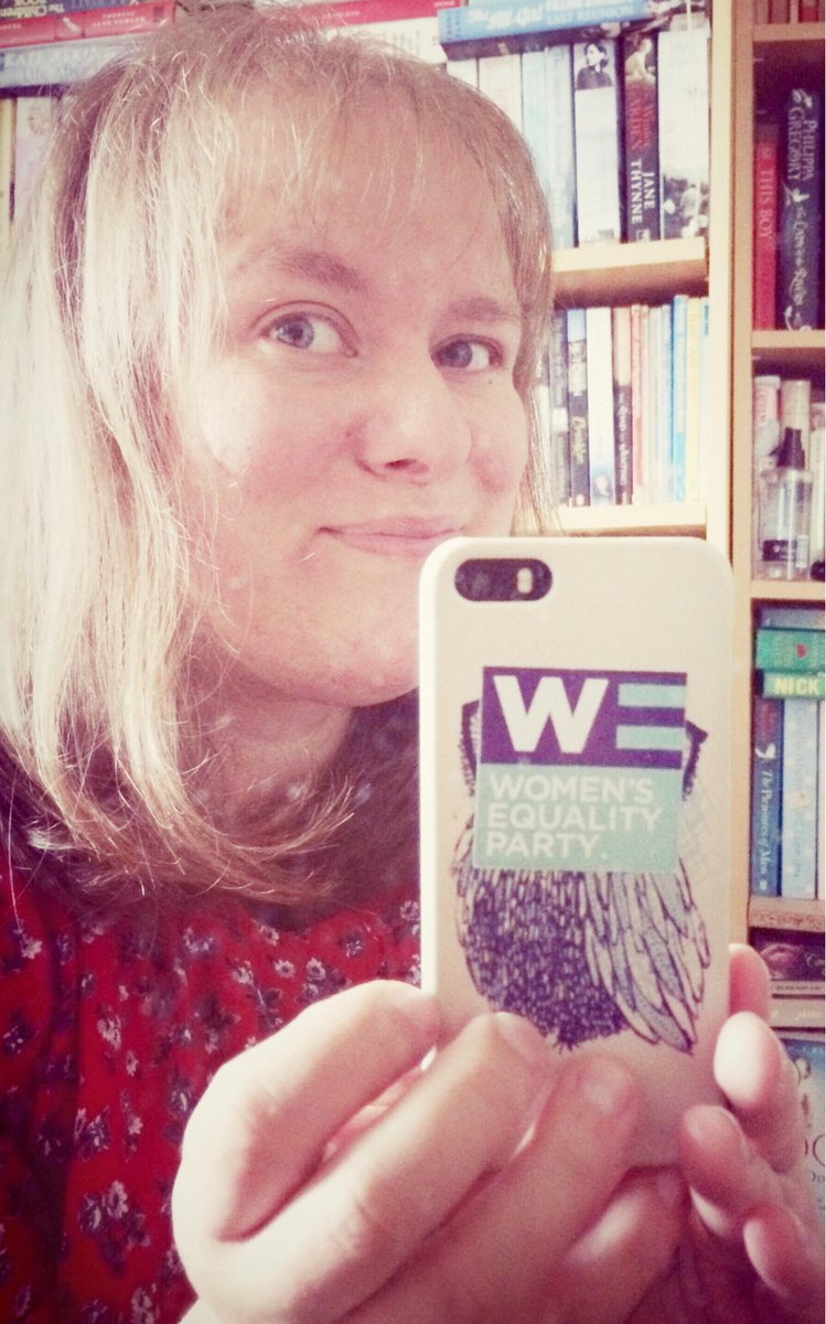 Very proud to be a Women's Equality Party Founder Member...  #WEPnesday #WEAreWE @WEP_UK http://t.co/Q56lDh3XWt