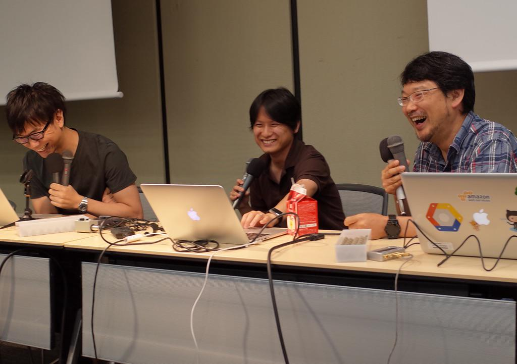 AftershowでMatz参戦キタ #rebuildfm http://t.co/wfknO22ult