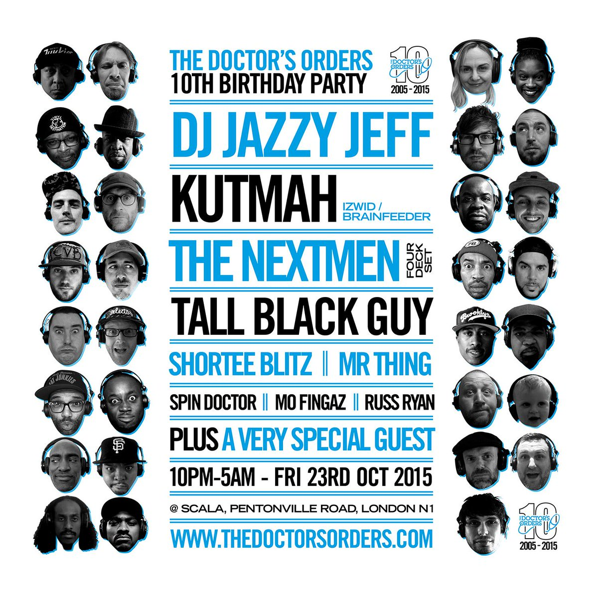 10th Birthday with our biggest lineup ever. First 10 tickets free!: http://t.co/nRY7T8DcMI   @djjazzyjeff215 @KUTMAH http://t.co/KvNxcTmCVH