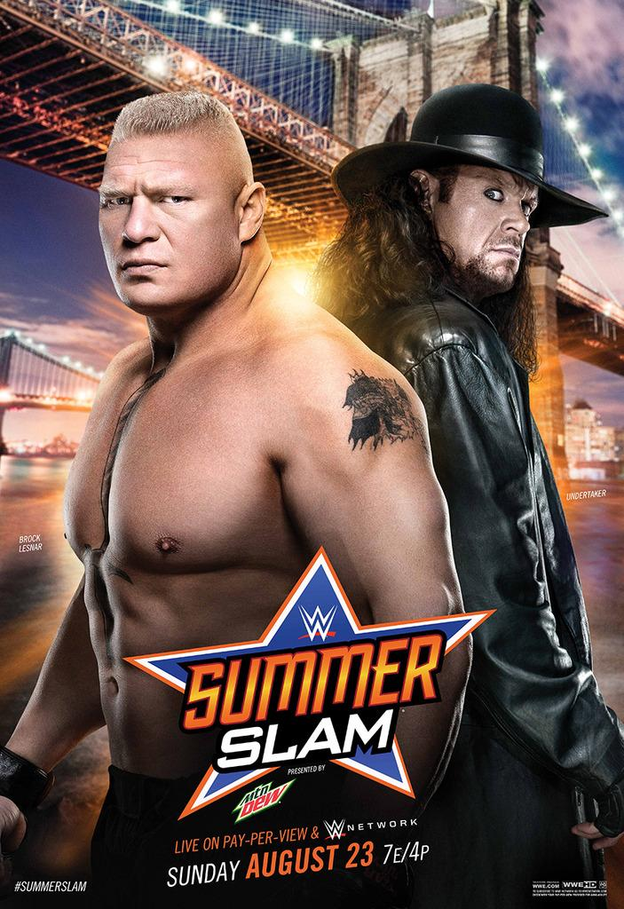 Coming to WWE #SummerSlam Night at MCU Park tonight?  We'll be giving away 8 tix to the biggest event of the summer http://t.co/LoFGlXfTcP