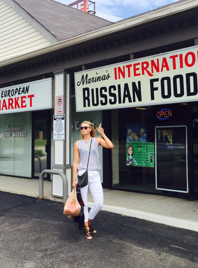 Leave it to me to find a Russian market in Mason Ohio. Little piece of happiness. #Roots http://t.co/vVDaWVlBVy