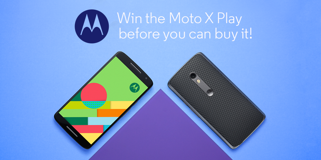 The #MotoXPlay is here… almost. Comment with your fave feature and #MotoXPlay for a chance to win! Ends tomorrow! http://t.co/XUr471qnWN