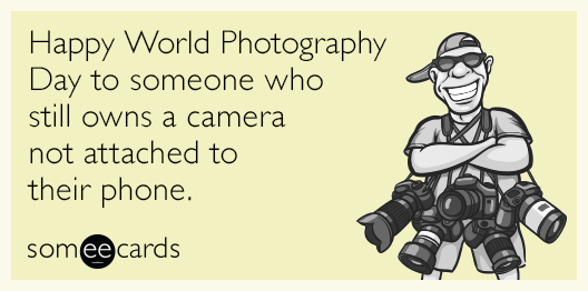 For the photographers who capture those tiny moments and make them last forever. Happy World Photography Day! http://t.co/z1fWHEDCCw