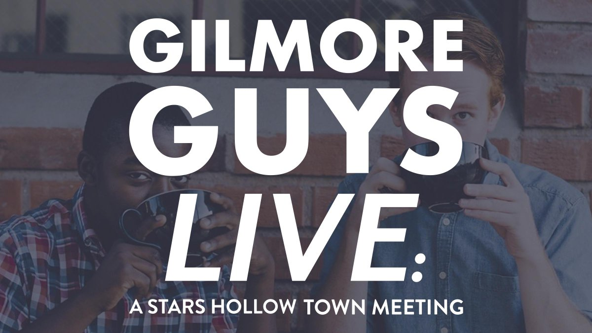 *TICKET GIVEAWAY* Follow & retweet for your chance to win 2 tix to @GilmoreGuysShow  LIVE this Sunday, 8/23! http://t.co/CijHSBBS3z