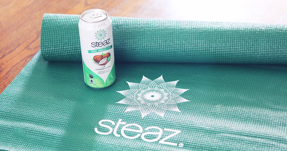 The Namaste #Giveaway is here! RT and Follow before 6:30PM EST for a chance to #win a Steaz #Yoga Mat! #KeepItSteazy http://t.co/UoxQHCIZTO