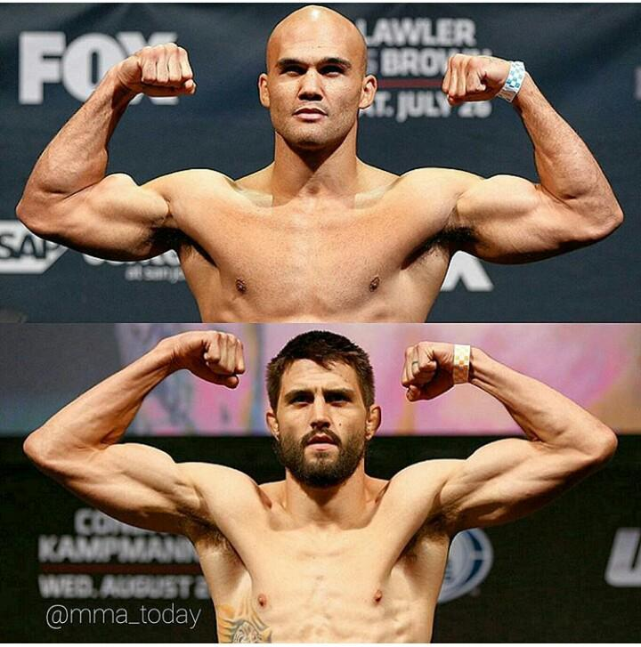 It's ON! It's official, I'll be fighting Robbie Lawler for the title at #UFC193 https://t.co/CsvQ6R4EG5 http://t.co/zqIDOMQpDO