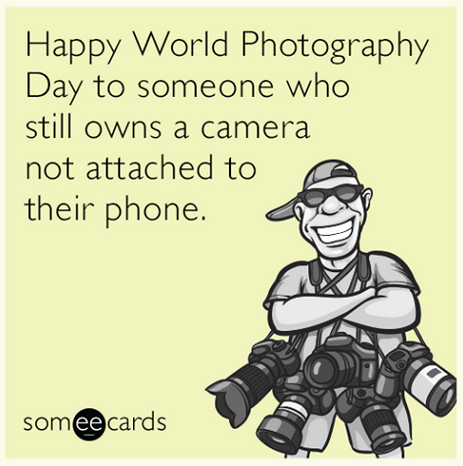 Happy #WorldPhotographyDay! http://t.co/rJlJ9gWjF6