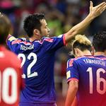 NEWS: #SaintsFC defender @MayaYoshida3 scores for Japan as they beat Cambodia 3-0 – http://t.co/jB504UZHkp http://t.co/IDltrfe4cX