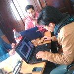 #HackPúblico en el @SEAutonomias, tres equipos ya trabajan para liberar datos públicos. http://t.co/4HNudrOoKm