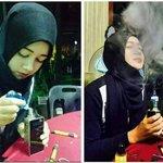 mostly lelaki hisap vape sebab nak berhenti merokok, perempuan nak berhenti apa ? http://t.co/v35xW4l4d5