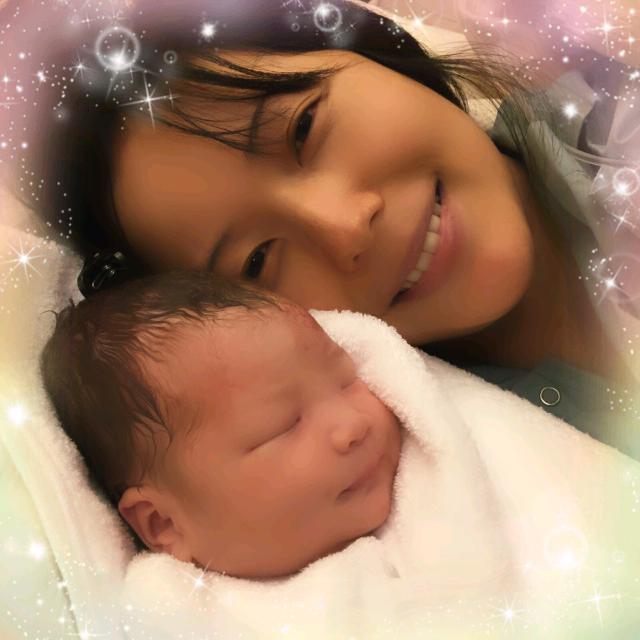 いつも応援ありがとうございます。この度無事に出産できました。本日16時19分。3116gの元気な女の子。陣痛は16時間も分娩からは30分の超安産。母子共に健康です。家族三人仲良く頑張りますので引き続きよろしくお願いいたします。六車奈々 http://t.co/6RpJzNEKYe