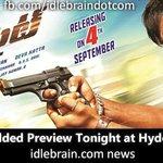 RT @idlebraindotcom: Dynamite Star Studded Preview Tonight at Hyderabad and Tirupati http://t.co/vZrqURmBFq #Dynamite @iVishnuManchu