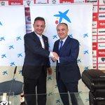 En estos momentos el Albacete Balompié y CaixaBank firman un acuerdo de patrocinio. @AlbaceteBPSAD http://t.co/uN1YVQ8zea