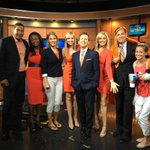 Your #CBS12am crew wearing orange today to fight hunger. @UnitedWayofPBC #HungerAction @cbs12 http://t.co/lfllF51hew