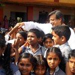 With the students of Punamoodu High School in Kalliyoor GramaPanchayat http://t.co/0AdZhwLUlf