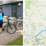 @guardianeco Thumbs up for @KSBScotland employee Alisdair Brown;36 miles:Glasgow-Stirling for @cycletoworkday http://t.co/d8INk2boQw