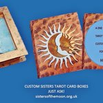 Order in time for Christmas!  Custom #Sisters #Tarot Card #Box. Heres how http://t.co/Jf9veerWNg … #kprs #earlybiz http://t.co/Nnq7Pezsis