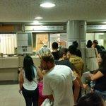 Andrang beim internationalen Ticketschalter @ Budapester Busbahnhof Nepliget. Last way out of BP? #keleti @neuholder http://t.co/LSi5d3lCEw
